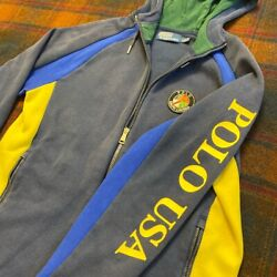 Polo Suicide Ski Cookie Patch Zip Up Hoodie