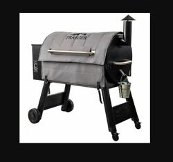 Traeger Wood Fire Grill Bac628 Winter Grey Insulation Blanket For Pro 34 New