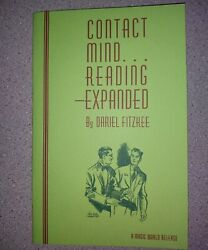 Contact Mindreading Expanded By Dariel Fitzkee Hellstromism Muscle Reading