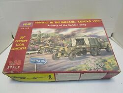 Icm Conflict In The Balkans Kosovo 1999 Artillery Of The Serbian Army Model Kit
