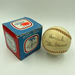 1950and039s Stan Musial Signed Personal Model Stan Musial Baseball Jsa Coa