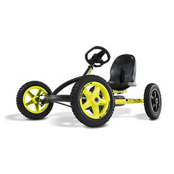 Berg Buddy Cross Kids Pedal Go Kart Ride On Toy, Black And Yellow For Parts