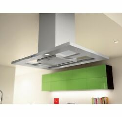 Zephyr Modena 42 Island Mount Range Hood Stainless Steel With Lights Fast Ship