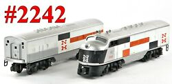 Lionel Pw 2242 New Haven Nh F-3 A-b Diesel Set /027/ 1958-59 Very Good