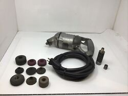 Black And Decker 331 Vibro Centric Driver Valve Seat Grinder And Driver And 9 Stones