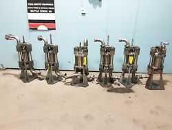 Lot Of 6 Graco Heavy Duty Commercial High Flow Stainless Steel Hydrolic Pumps