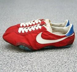 Nike Cursive Made In Japan Americas Earliest Red X White Menand039s Us10 70s Vintage