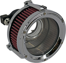 Trask Chrome Assault Charge High-flow Air Cleaner For 1991-2020 Harley Sportster