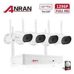 Home 3mp Hd Wireless Security Camera System Cctv 3mp 8ch Nvr Outdoor Audio Pan