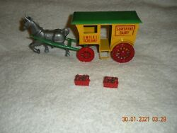 Wyandotte All Metal Products Co. Early Bird Milk Wagon And Horse