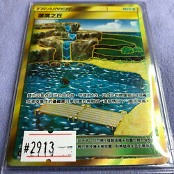Pokemon Card - Brooklet Hill 2019 Sun And Moon T-chinese - As5b 229/186 Ur - 2913