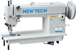 New-tech Gc-0303 Walking Foot Industrial Sewing Machine W/table And Servo Motor