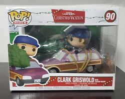 Funko Pop Clark Griswold With Station Wagon Christmas Vacation Vinyl Figure