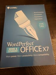 Corel Word Perfect Office X7 Home Student Edition Wpox7hsenmbc Install On 3 Pcs