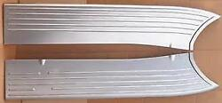 1941 Ford Pickup Truck Stamped Steel Running Boards -as Original Usa Made