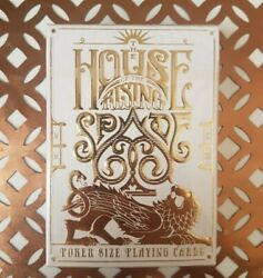 House Of The Rising Spade Faro Edition Playing Cards New Sealed Stockholm17 Deck