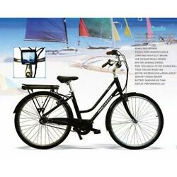 250w Electric 3 Speed Pedal Assist Shimano Shifter Aluminum Frame City Bike