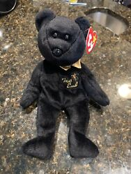 Ty Beanie Baby The End Bear - Retired -1999mint Errors Rare