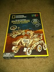 Solar Space Explorers - National Geographic Diy Moon Buggy And Mars Rover Mod...