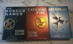 Suzanne Collins The Hunger Games Trilogy Lot Of 3 1st Edition 1st Print Hc Good