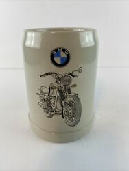 Vintage Butler And Smith Bmw Motorcycle Beer Stein Mug 0.5l West Germany