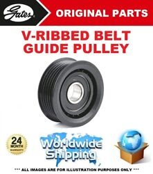 Gates Fan Belt Guide Pulley For Plymouth Voyager / Grand Voyager 3.8 I 1995-2001