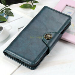 For Zte A3 2020 A5 2020 A7 2020 Luxury Retro Flip Pu Leather Wallet Case Cover