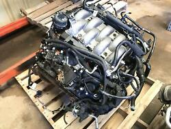 18 19 Ford Mustang 5.0l At Vin F 8th Digit Engine Motor And Transmission Damaged