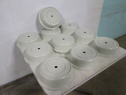 Lot Of 10 Cambro Commercial Heavy Duty Stackable 11 Plate Dome Cover/lids