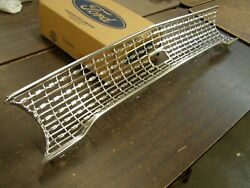 Oem Ford 1963 Galaxie 500 Grille Restored Re-anodized Trim