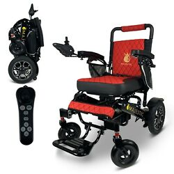 2021 Travel 19and039and039 Luxury Designed Leather Electric Wheelchair Lightweight