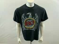 Slayer Seasons In The Abyss Promo T-shirt Men's Black Graphic Size Large Cotton