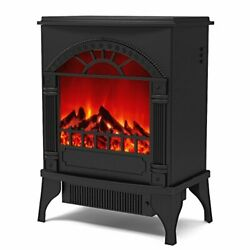 Regal Flame Apollo Electric Fireplace Free Standing Portable Space Heater Sto...