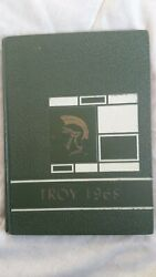 1968 North Webster Indiana Troy School Yearbook