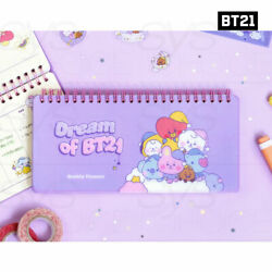 Bts Bt21 Official Authentic Goods Weekly Planner Dream Of Baby Ver 70p + Track