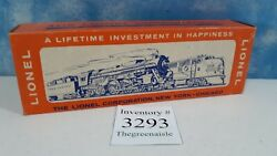 Lionel No. 3665 O Scale Gauge Minuteman Missile Launching Train Car With Box