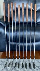 9 Diff Models Arnold Palmer S/steel Putters Tan Leather 8 Umbrella End Caps