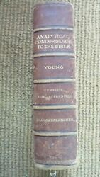 Analytical Concordance To The Bible By Robert Young, 6th Edition