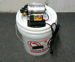 Rv Water Line Unit - External Pump System For Sanitizer And Winterizer