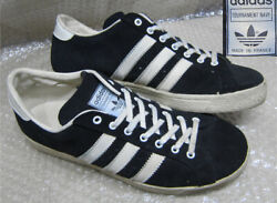 Adidas Tournament Navy Made In France Size Us9 Low Cut Sneakers Men's Shoes Rare