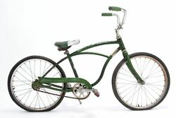 Used As Is Late 50and039s/early 60and039s Schwinn Typhoon Kidand039s Cruiser 20 Single Speed