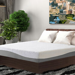 10 Inch Cool Gel Memory Foam Bed Mattress Bed-in-a-box Bedding Soft Twin Size