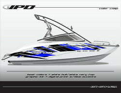 Ipd Boat Graphic Kit For Yamaha 212x, 212ss, Sx210, And Ar210 Gh Design