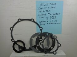 Velvet Drive Borg Warner 71c-72c Rear Seal And Gaskets For Gear Reduction Unit