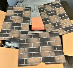 Empire Gas Fireplace Aged Ceramic Brick Liner For 36 Tahoe Dvp36d2a-1 New