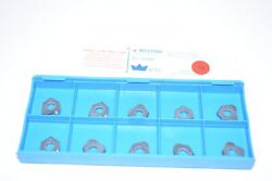 Pack Of 10 New Millstar T0-0500 Lc12 Indexable Carbide Inserts