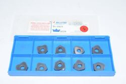 Pack Of 9 New Millstar T0-0625 Lc20 Indexable Carbide Inserts