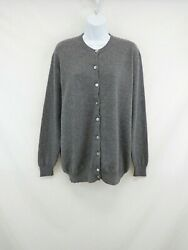 Your 6th Sense Womenand039s 100cashmere Button-front Cardigan Sweater Size Mk404
