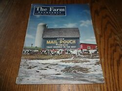 Vintage Winter 1947 The Farm Quarterly Magazines Ads Farming Mail Pouch Cover