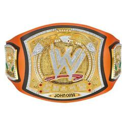 Official Wwe Authentic John Cena Signature Series Spinner Championship Replica